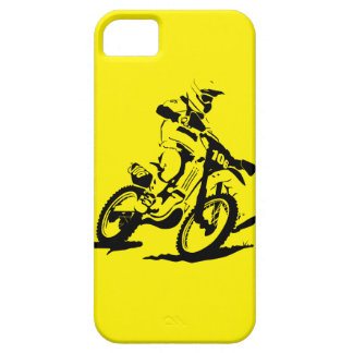 Simple Motorcross Bike and Rider iPhone 5 Cover
