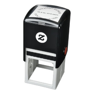Simple Name and address Self-inking Stamp
