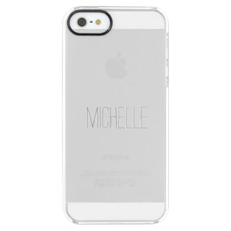 Simple Name Clear Case