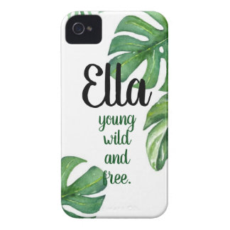 Simple Name iPhone Case