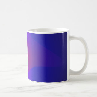 Simple Navy Abstract Painting Coffee Mug