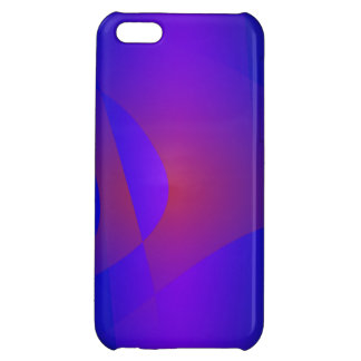 Simple Navy Abstract Painting iPhone 5C Cover