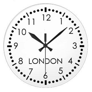 Simple Newsroom Large Clock