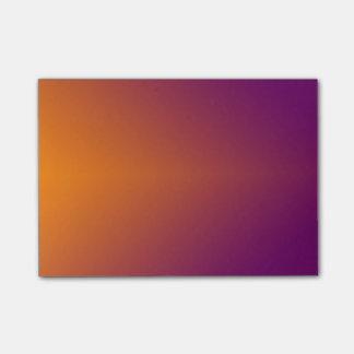 Simple Orange To Purple Post-it Notes