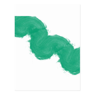 Simple Paintbrush Swirl Postcard