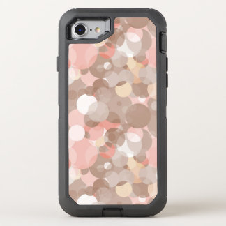 Simple Pattern - Circles OtterBox Defender iPhone 8/7 Case