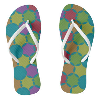 Simple pattern flip flops for everyday wear thongs