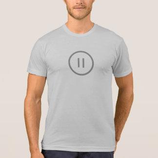 Simple Pause Icon Shirt