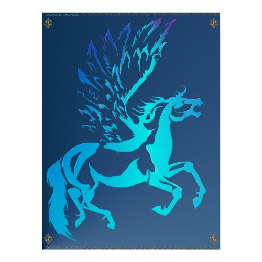 Simple Pegasus Posters