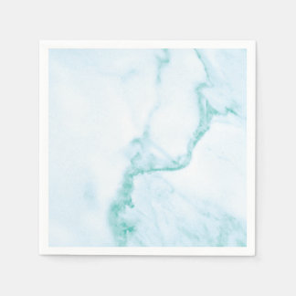Simple & Perfect Turquoise Marble Napkin Disposable Serviette