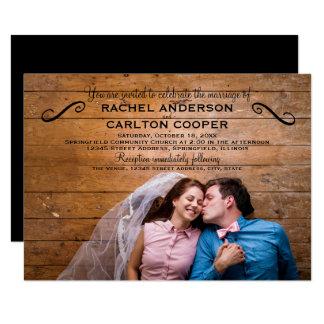 Simple Photo - 3x5 Wedding Invitation