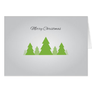 Simple Pines Greeting Card