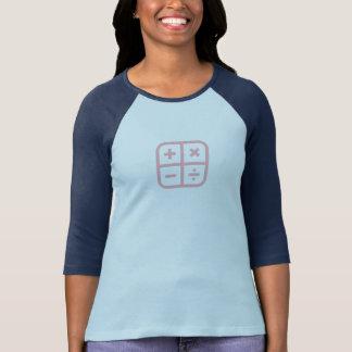 Simple Pink Calculator Icon Shirt