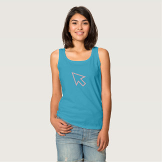 Simple Pink Cursor Icon Shirt