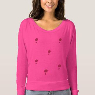 Simple Pink Polka Dots T-Shirt