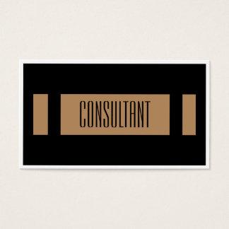 Simple Plain Elegant Business Card