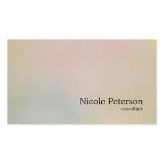 simple plain elegant textured pastel colors pack of standard business cards