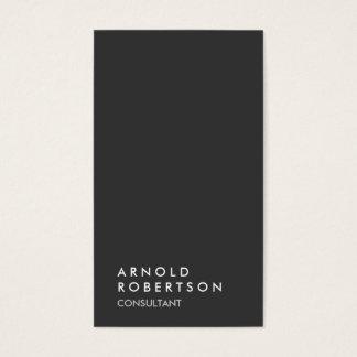 Simple Plain Gray Trendy Consultant Minimalist