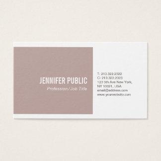 Simple Plain Harmonic Colors Modern Professional Business Card