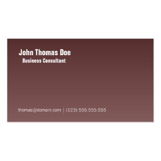 Simple & Plain Professional Business Card Design