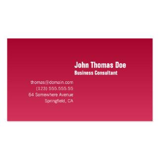 Simple & Plain Professional Business Card Template