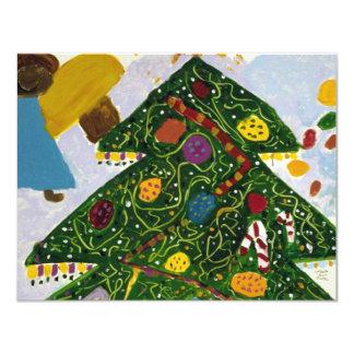 SIMPLE PLEASURES CHRISTMAS HOLIDAY 11 CM X 14 CM INVITATION CARD