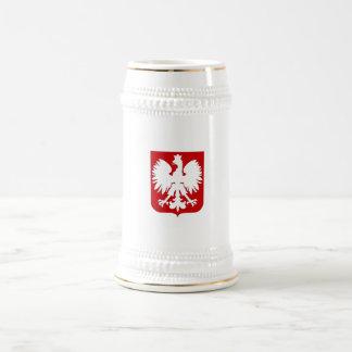 Simple Polish eagle Stein