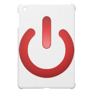 Simple Power Button iPad Mini Cover