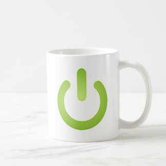 Simple Power Button Coffee Mugs