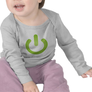 Simple Power Button T-shirts