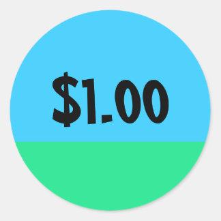 Simple Price Tag Sticker - Customizable