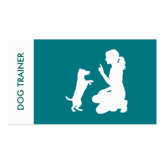 Simple Professional Dog Trainer Pack Of Standard Business Cards