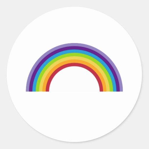 Simple Rainbow Sticker sheet