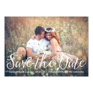 Simple Romance Save the Date Magnetic Invitation Magnetic Invitations