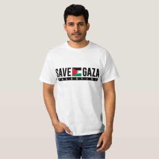 Simple Save Gaza Palestine T Shirt