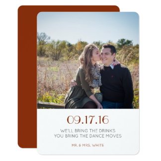 Simple Save the Date Card