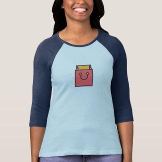 Simple Shopping Bag Icon Shirt