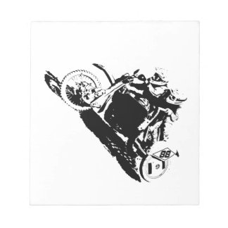 Simple Sidecarcross Design Notepad