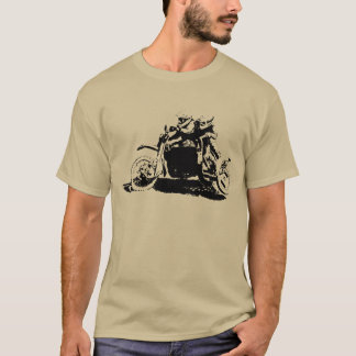 Simple Sidecarcross Design T-Shirt