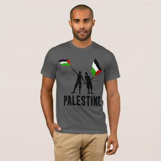 Simple Silhouette Flag Palestine T Shirt
