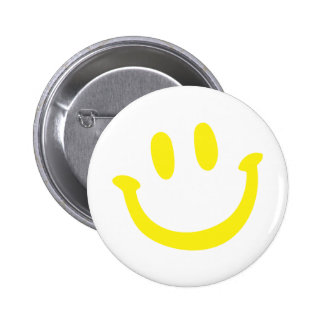 Simple Smile 6 Cm Round Badge