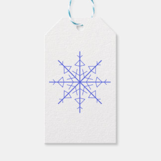 Simple Snowflake Gift Tags