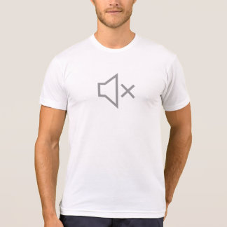 Simple Sound Off Icon Shirt