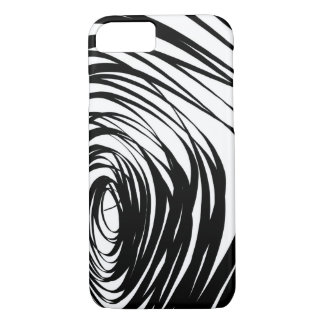 Simple Spiral Warped2 - Apple iPhone Case