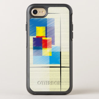 Simple Squares and Rectangles Geometric Patterned OtterBox Symmetry iPhone 8/7 Case