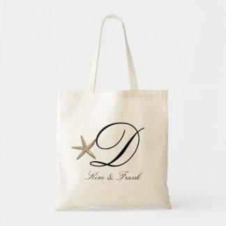 Simple starfish tote bag