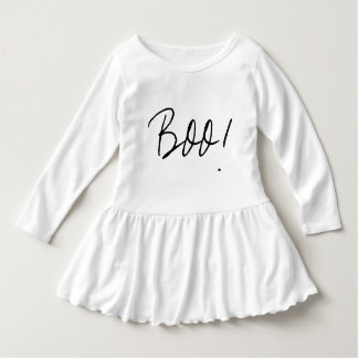 simple statement Boo! for Halloween Dress