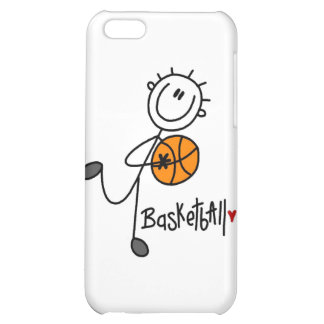 Simple Stick Figure Basketball and Gifts iPhone 5C Cases