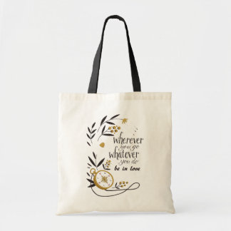 "Simple stock market ""Wherever you go to whatever Tote Bag"