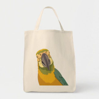 Simple stock market with print of had ploughed tote bag